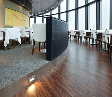 Bodenbelag referenzen raumgestaltung august karp gmbh for Raumgestaltung restaurant